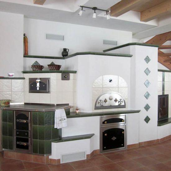Klassischer Großer Ofen