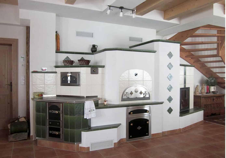 Klassischer Großer Ofen - Holzbackofen Gestaltung
