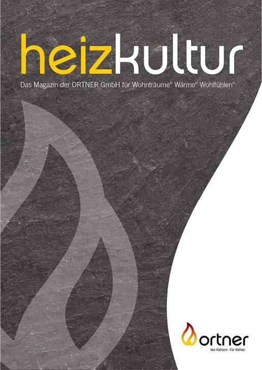 Titelseite eines Magazins, Schwarz-weiße Grafig