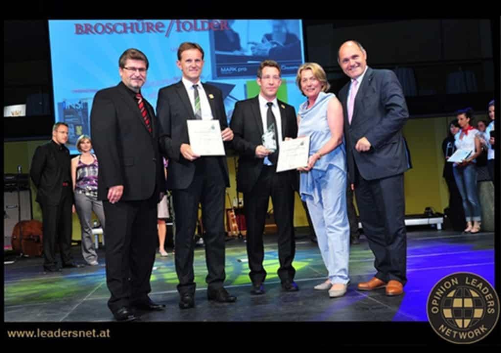Die ORTNER GmbH erhählt den Goldenen Hahn 2011